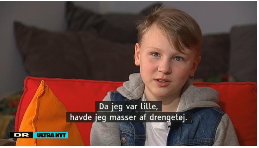 Er mit barn transkønnet?